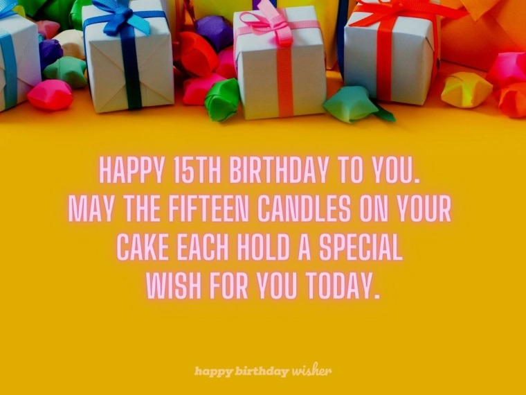 15 wishes for you today