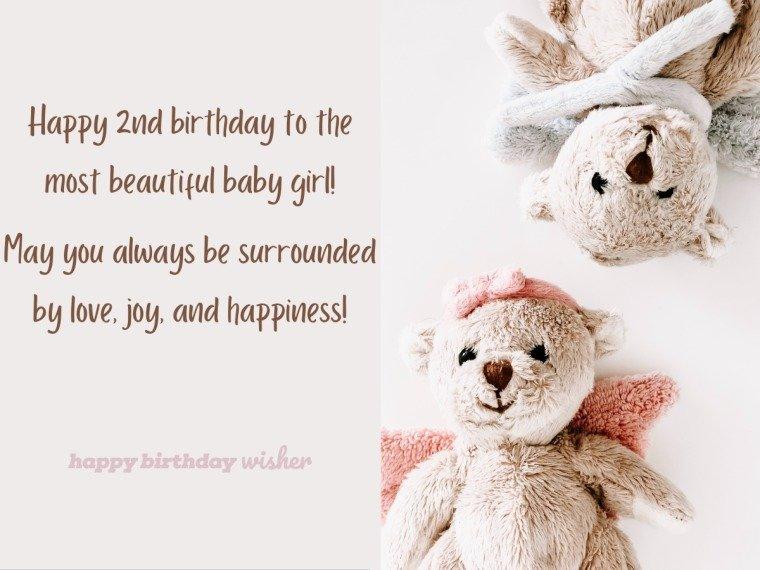A beautiful baby girl turns 2
