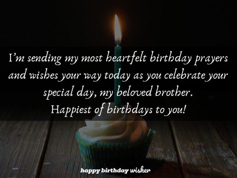 A birthday prayer for my beloved brother