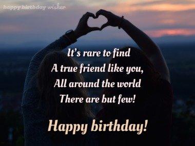 A friend as true as you