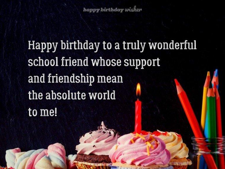 A truly wonderful school friend