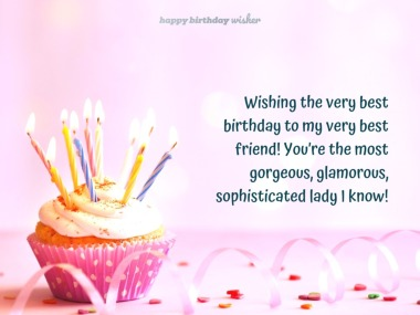 Birthday Wishes for Best Friend Female - Happy Birthday Wisher