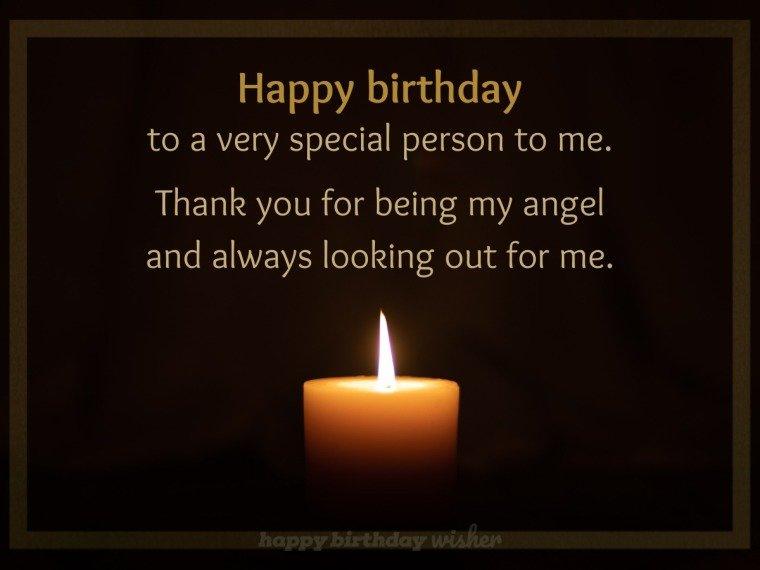 Happy birthday to my guardian angel