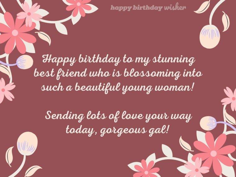 Happy birthday to my stunning best friend