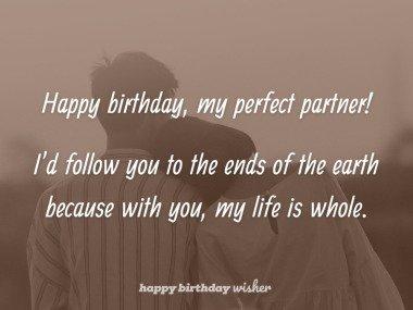 Happy birthday to the perfect partner