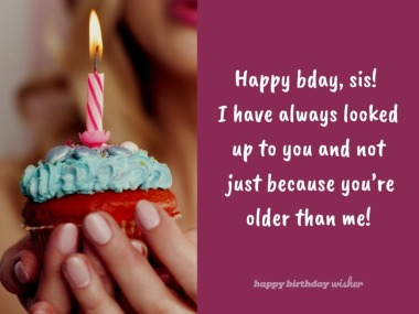 Magnificent Birthday Wishes For Elder Sister Happy Birthday Wisher Funny Birthday Cards Online Unhofree Goldxyz