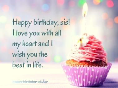 Happy Birthday Sister Images.Birthday Messages For Sister Happy Birthday Wisher