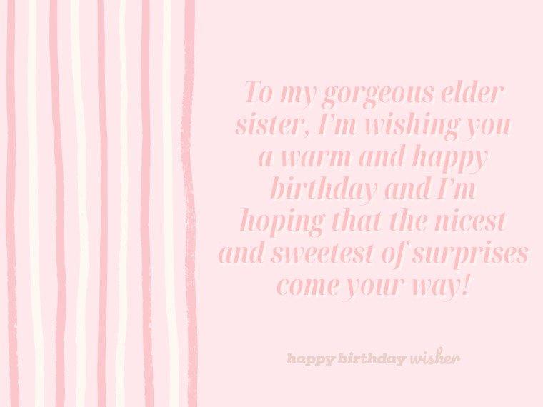 I wish a warm and happy birthday