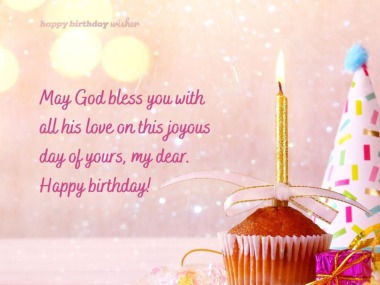 Christian Birthday Wishes Happy Birthday Wisher