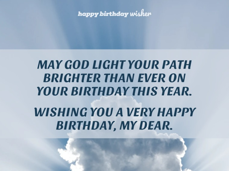 May God light your path brighter than ever