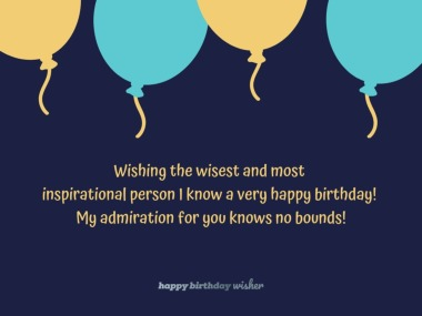 Birthday Wishes for Mentor - Happy Birthday Wisher