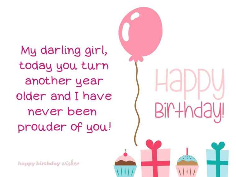 My darling girl turns another year older today