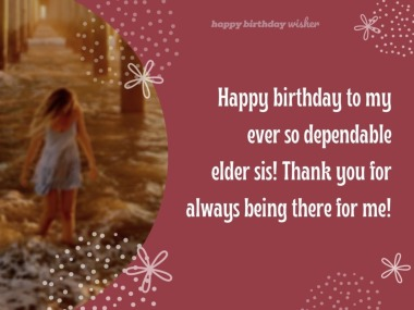 Birthday Messages for Sister - Happy Birthday Wisher