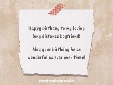 My loving long distance boyfriend