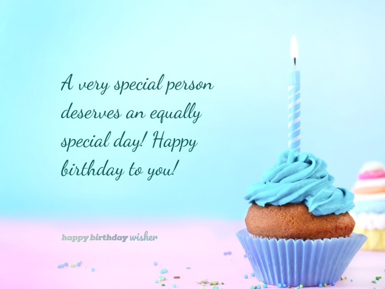 Someone special deserves an equally special day