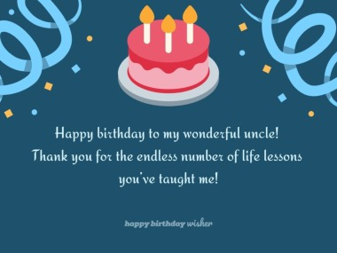 Prime Birthday Wishes For Uncle Happy Birthday Wisher Personalised Birthday Cards Bromeletsinfo