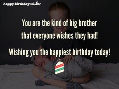 The big bro everyone wishes they had