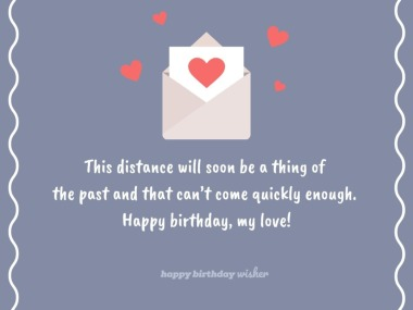 birthday wishes for boyfriend long distance happy birthday wisher