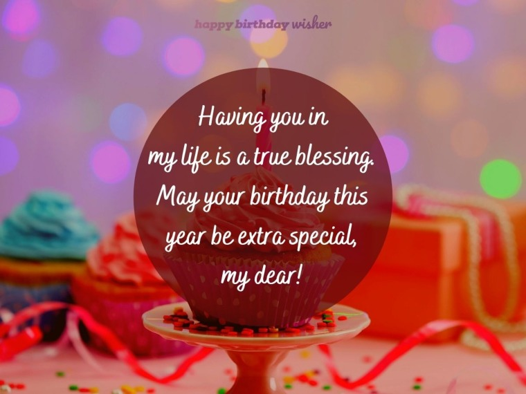 Wishing you an extra special birthday