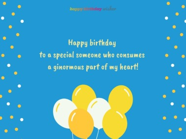 Awe Inspiring Birthday Wishes For Someone Special Happy Birthday Wisher Funny Birthday Cards Online Elaedamsfinfo