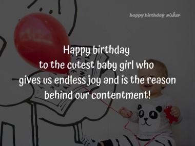 Fantastic Cute Birthday Wishes For Baby Girl Happy Birthday Wisher Funny Birthday Cards Online Fluifree Goldxyz